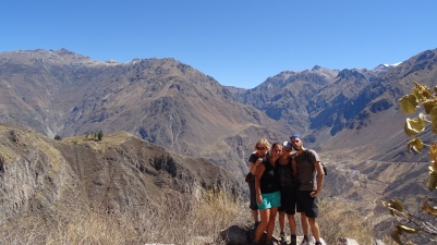 Mit Miet und Corine im Colca Canyon